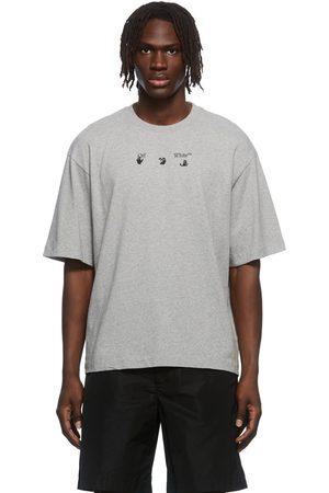 OFF-WHITE Men T-shirts - Negative Mark Logo T-Shirt