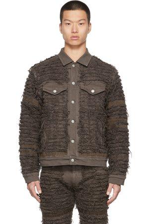 1017 ALYX 9SM Brown Blackmeans Edition Denim Blackmeans Jacket