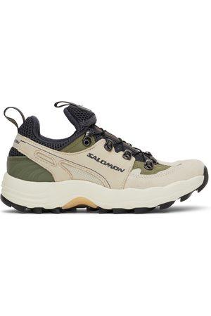 Salomon Women Rainwear - Taupe Rain Wind Advanced Sneakers