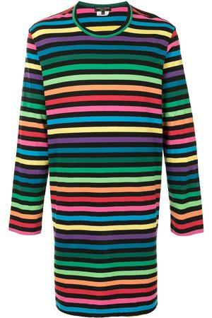 Comme des Garçons Striped long T-shirt - Multicolour