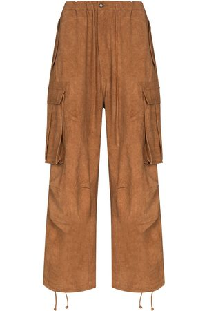 Story Forager wide-leg cargo trousers
