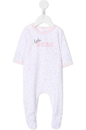 HUGO BOSS Logo-print cotton pajama