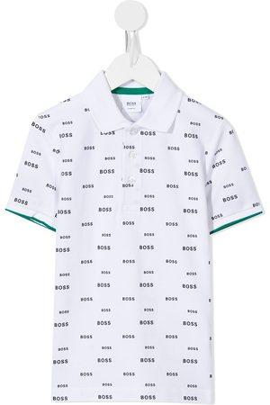HUGO BOSS Logo-print polo shirt