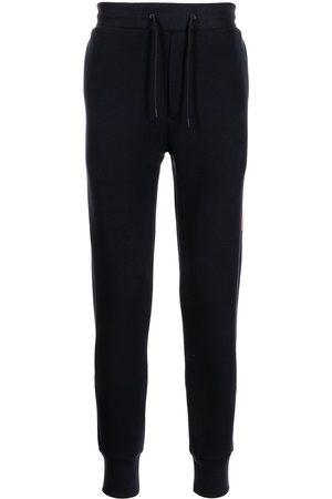 Paul Smith Side-stripe slim track pants - 49 NAVY