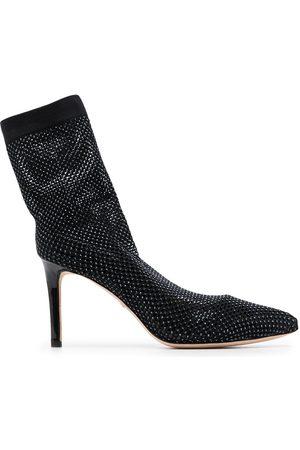 Badgley Mischka Women Heels - Stiletto leather boots