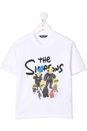 Balenciaga The Simpsons-print cotton T-shirt