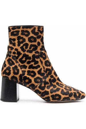 Michael Kors Women Ankle Boots - Leopard-print ankle boots - 220 BUTTERSCOTCH