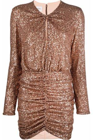 Pinko Women Party Dresses - Sequin-embellished mini dress