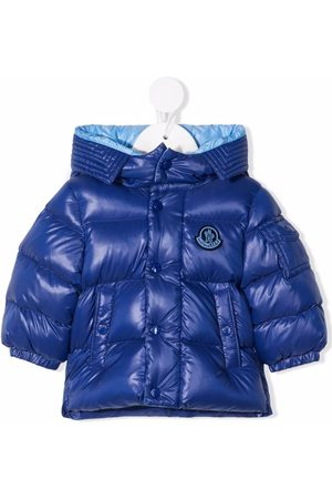 Moncler Puffer Jackets - Hooded padded down coat