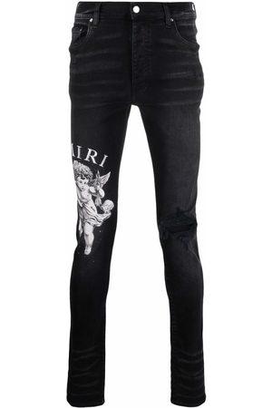 AMIRI Logo-print jeans