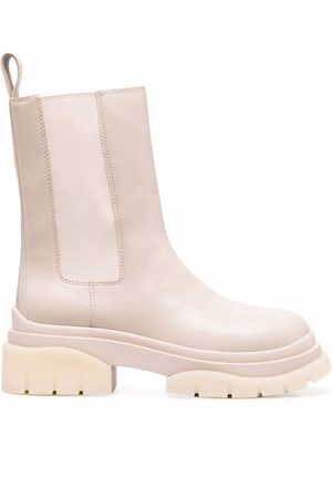 Ash Storm chunky leather Chelsea boots - Neutrals