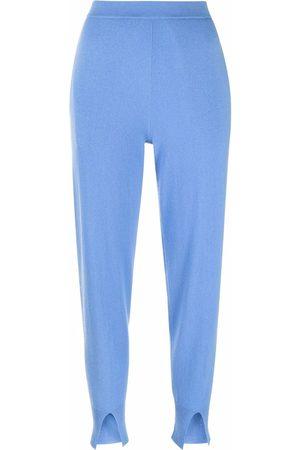 THEORY Women Sweatpants - Slit-detail cashmere sweatpants