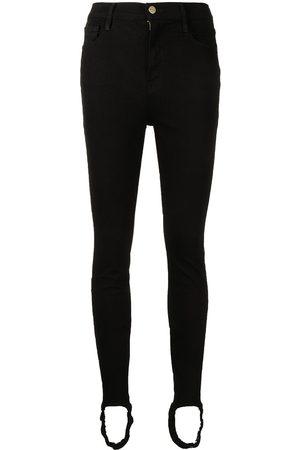 Frame Women Skinny - Stirrup-cuff skinny jeans