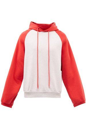 ERL Men Sweatshirts - Raglan Cotton-blend Hooded Sweatshirt - Mens
