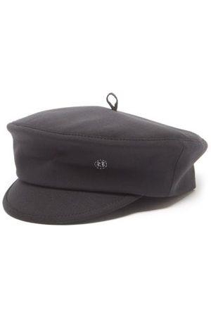 Ruslan Baginskiy Women Caps - Logo-embroidered Wool-blend Twill Cap - Womens