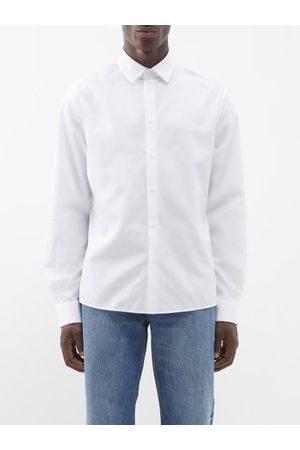 Raey Men Long sleeves - Long-sleeved Cotton Shirt - Mens