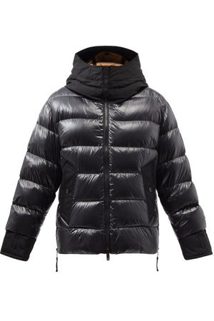 Burberry Men Jackets - Hooded Quilted Down Coat - Mens