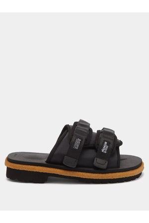 Moncler Men Sandals - X Suicoke Moto Two-strap Nylon Sandals - Mens
