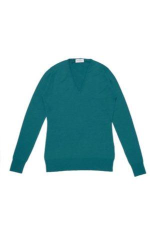 JOHN SMEDLEY Orchid Merino Wool Sweater