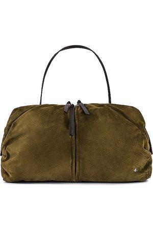 RAG&BONE Women Travel Bags - Commuter Overnighter Bag in Olive.