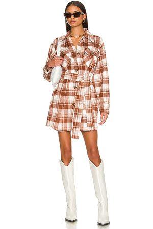 Steve Madden Women Casual Dresses - Maverick Dress in Rust.