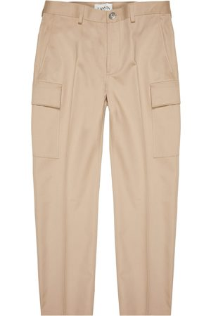 Lanvin Fitted Cargo Pants - Stone