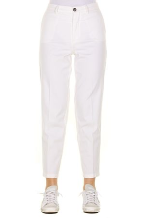 Berwich Pantalone OFFWHITE CHICCA-TF0599X