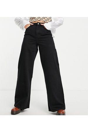 Bershka Petite 90s super wide leg jeans in