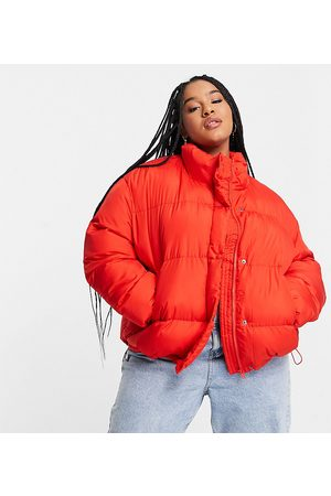 ASOS Women Puffer Jackets - Curve oversized recycled puffer jacket in