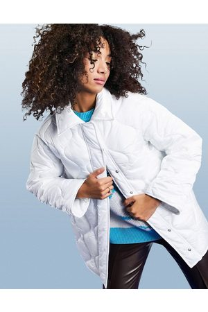 ASOS Women Puffer Jackets - Onion quilt padded jacket in
