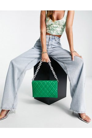 ASOS Women Purses - Multi gusset cross body bag with interchangeable strap in