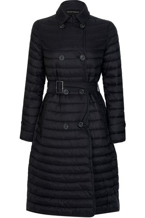 Emporio Armani Emporio Womens Quilted Trench Coat