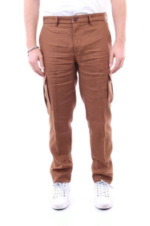 Baronio Men Cargo Pants - Trousers Cargo Men Camel