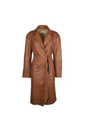 BULLY Women Trench Coats - Trench in pelle