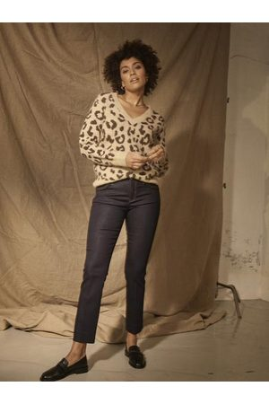 Mos Mosh Women Tops - Soffia Leo Knit- incense-139640