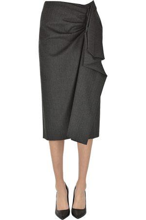 DRIES VAN NOTEN Women Pencil Skirts - Pinstriped pencil skirt