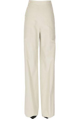 Max Mara Wide leg corduroy trousers
