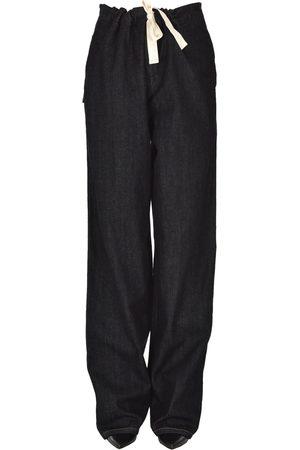 Jil Sander Women Wide Leg - Oversized jeans