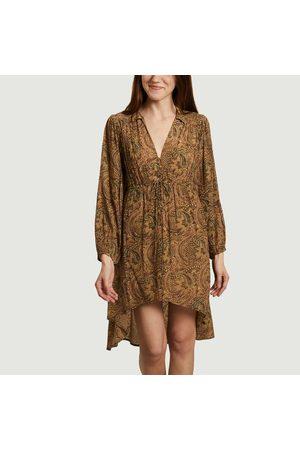 Swildens Ezia fancy print asymmetric dress