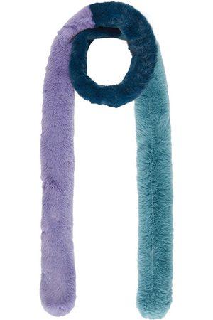 Nooki Women Scarves - Pasha Triple Fur Scarf - Lilac Mix