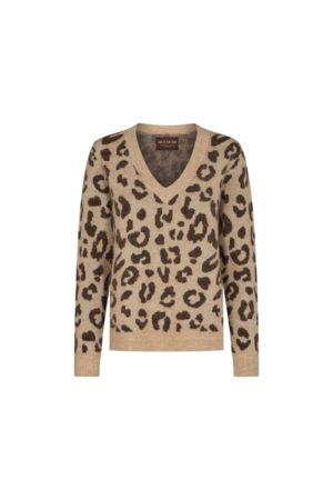 Mos Mosh Women Jeans - Soffia Leo Knit - Camel