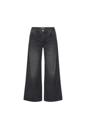 Mos Mosh Women Wide Leg - Reem BL Jean - Dark Grey