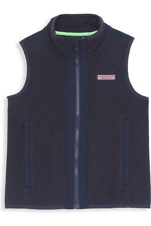 Vineyard Vines Boys Gilets - Little Boy's & Boy's Harbor Fleece Vest