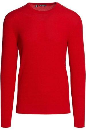 Saks Fifth Avenue Men Sweatshirts - Slim-Fit Lightweight Tech Piqu Sweater