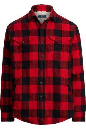 Polo Ralph Lauren Men Polo Shirts - Buffalo Plaid & Shearling Shirt