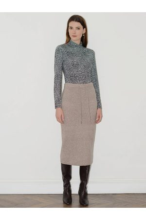 Great Plains Women Skirts - Carice Skirt in Oatmeal