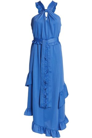 Derek Lam Women Asymmetrical Dresses - Dasha Asymmetrical Midi-Dress