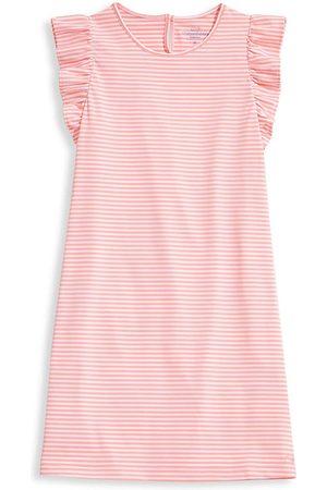 Vineyard Vines Little Girl's & Girl's Sankaty Striped Ruffle Dress