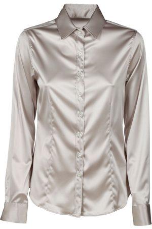 Robert Friedman Women Shirts - WOMEN'S 120AGATA43 GREY VISCOSE SHIRT