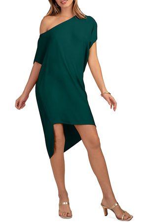 Trina Turk Radiant Asymmetric Cocoon Dress